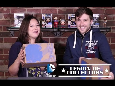Legion of Collectors: Wonder Woman Unboxing!