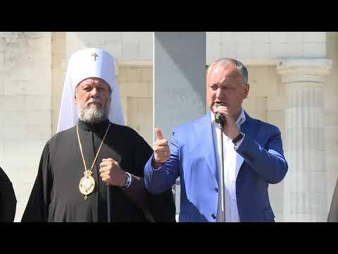 Președintele Igor Dodon a participat la Marșul pentru susținerea familiei tradiționale