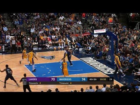 4th Quarter, One Box Video: Dallas Mavericks vs. Los Angeles Lakers
