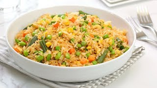 Cook With Me   Veggie Fried Rice   Quick + Easy Pantry Recipe by The Domestic Geek