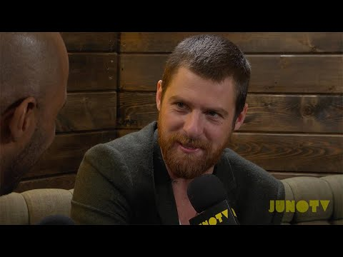 Matt Mays - Backstage at the 2014 JUNO Awards