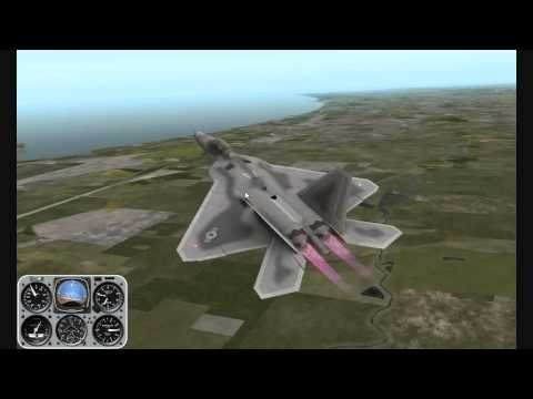 X-Plane Lockheed Martin F-22 Raptor