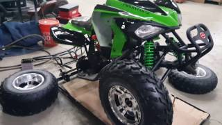8. 150cc Coolster CXC Atv Assembly Video Sport Quad How To