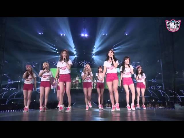 SNSD - Into The New World [GIRLS & PEACE] in SEOUL