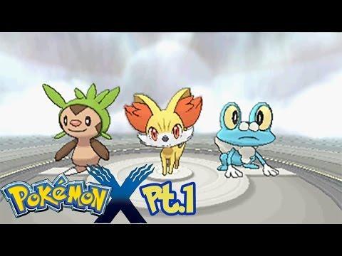 Guida Pokémon X HD-PT 1-L'inizio di una grande avventura!
