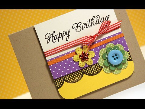 Video Guide To Making Handmade Cards Tips And Updates Babamail