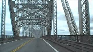 Longview (WA) United States  city pictures gallery : Longview Bridge - driving across to Washington State
