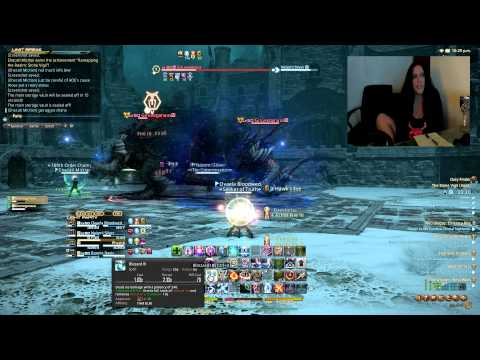 Stone Vigil Hard Mode (Last boss) Final fantasy XIV A realm reborn