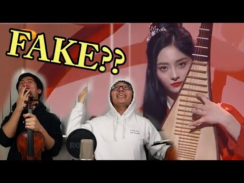 This Chinese Live Music Performance is...Fake?