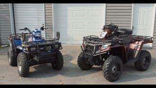 9. Polaris Sportsman 400-Class Modifications