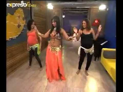 Pregnant belly dancing (25.05.2012)