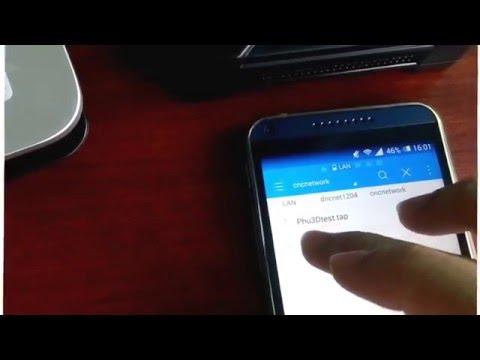Hướng dẫn thiết lập quản lý bộ truyền DNC One NET qua mạng WiFi