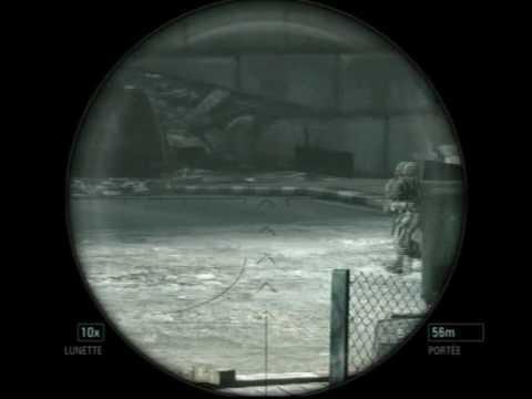 socom confrontation l96aw montage. sniper sur socom confrontation