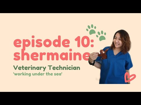 Dear Younger Me   ep 10 Shermaine, Veterinary Technician 🐶