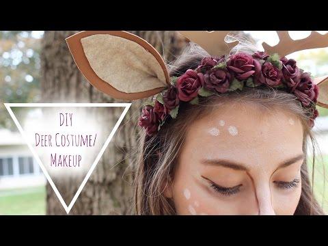 Last minute DIY Deer Costume