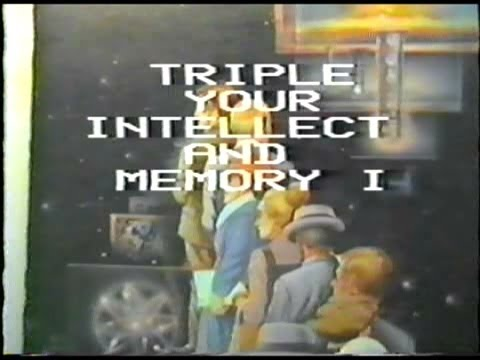 Triple Your Intellect and Memory I (Al Fry's Incredible Inquiry Series, 1985)