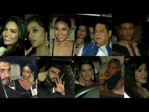 ABU JANI & SANDEEP KHOSHLA HOST DEEWALI PARTY