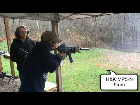 Тестовый отстрел 43 единиц автоматического оружия нон-стоп.
