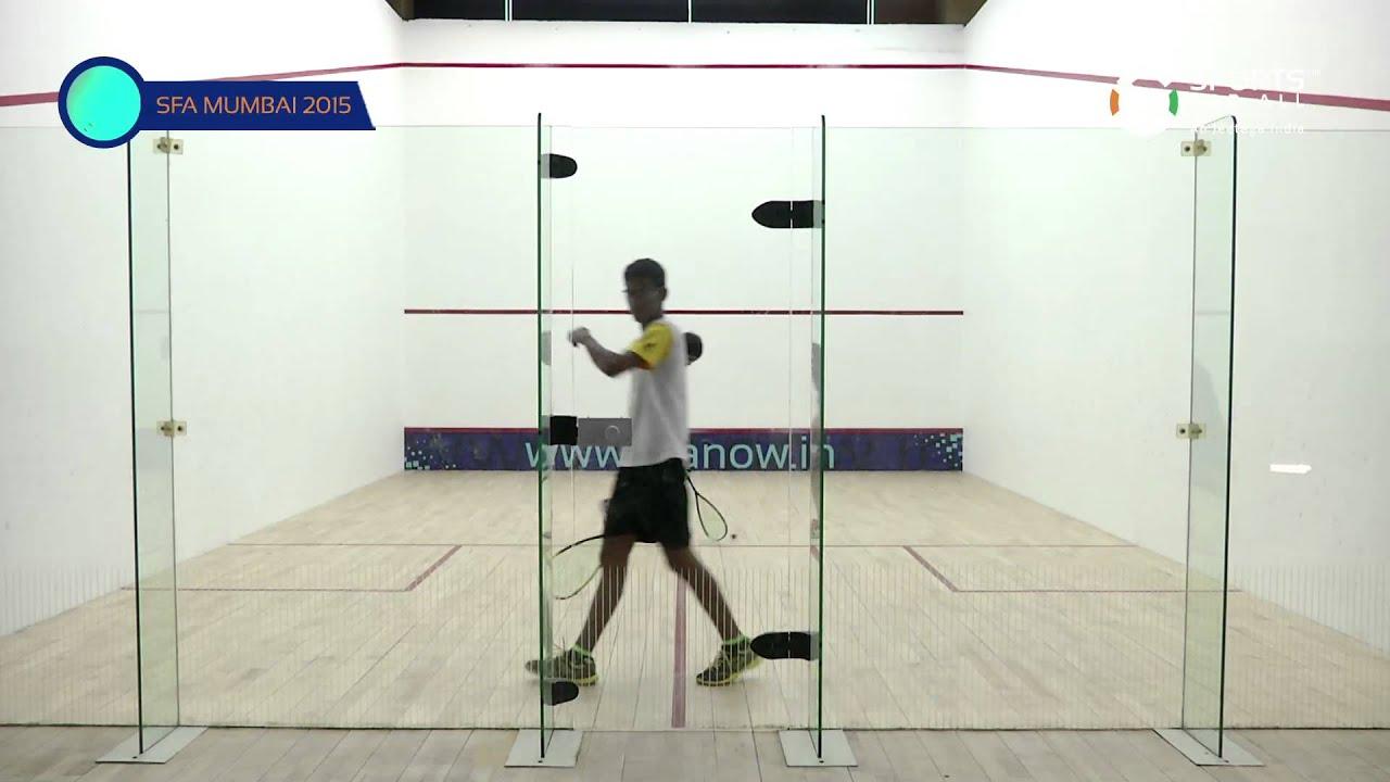 SFA Mumbai 2015 | Squash | Avinash Yadav Vs Mehta Araash | U15 | Boys | S/F