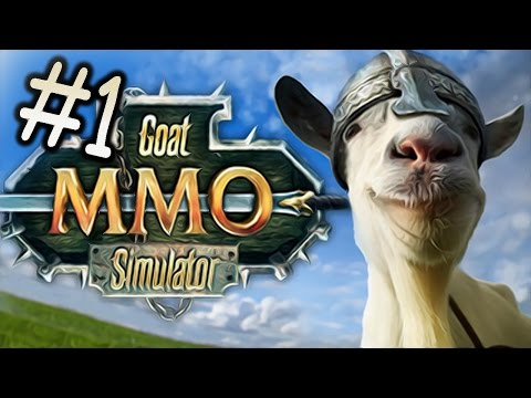 Mmo - Goat Simulator returns as a... MMO? AWESOME! COMMENT HERE: http://bit.ly/BroComments Get awesome games: http://www.g2a.com/PewDiePie Click Here To Subscribe!...
