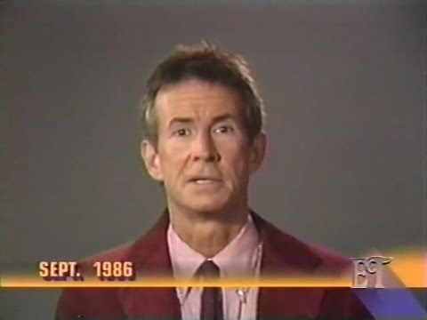 Anthony Perkins died of AIDS, just 6 years before, he took AIDS Prevention PSA (1992)