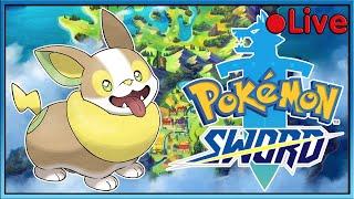 Pokemon Sword - Gym Battles! - • Live