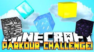 Minecraft - PARKOUR CHALLENGE! w/Preston, BajanCanadian, Vikkstar&Lachlan
