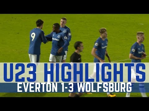 Video: U23 HIGHLIGHTS: EVERTON 1-3 WOLFSBURG