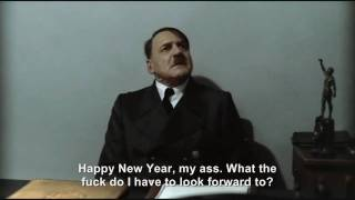 Hitler is wished a Happy New Year
