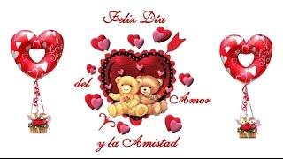 Postales De Amor Y Amistad Animadas - Feliz Dia De San Valentin