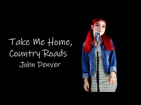 "John Denver  ""Country Roads"" Cover by Andreea Munteanu"