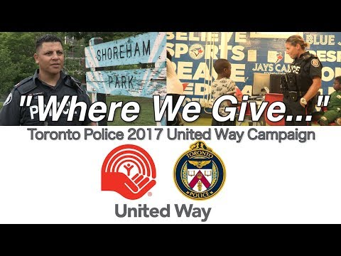 Where We Give | @TorontoPolice United Way Campaign 2017 | Jane and Finch Boys & Girls Club