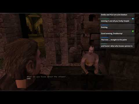 Let's Stream Gothic 2 (blind) Part 27 – Murders And Mining