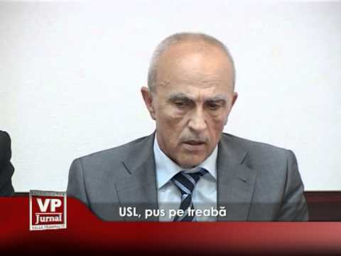 USL, pus pe treabă