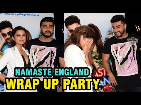 Parineeti Chopra And Arjun Kapoor Namaste England