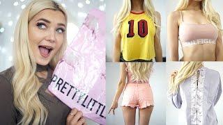 HUGE TRY ON CLOTHING HAUL! ASOS & PRETTY LITTLE THING! • VLOG CHANNEL: https://goo.gl/15jMGl CLOTHING LINKS:...