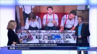 TVAQTJ - FRANCE 3 NORMANDIE 28/11/16