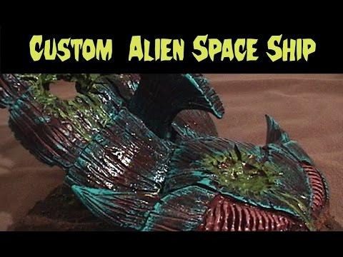 Original Alien Tyranid Hive Ship Terrain