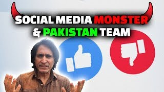 Social Media Monster & Pakistan Team | Ramiz Speaks