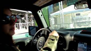 2012 Jeep Wrangler Unlimited - Off Road Test Driving At 2012 New York International Auto Show