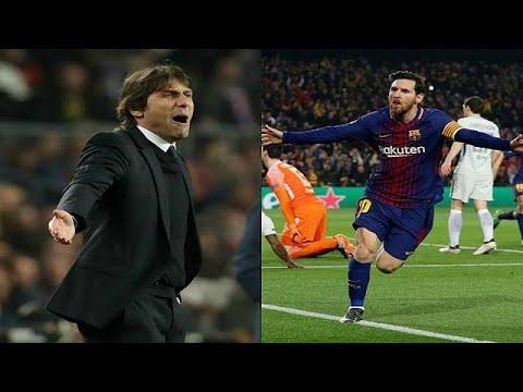 العرب اليوم - شاهد: ما قاله مدرب تشيلسي عن ميسي بعد انهزام فريقه أمام برشلونة