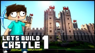 Minecraft Lets Build: Castle - Part 1