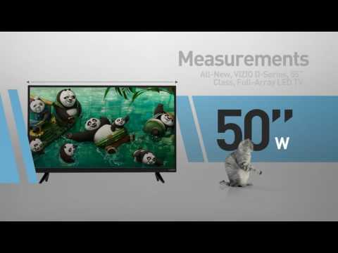 "All-New VIZIO D55n-E2 D-Series 55"" Class Full‑Array LED TV // Full Specs Review  #VIZIO"