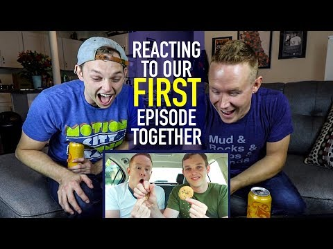 Reacting to our FIRST EPISODE EVER UPLOADED ...