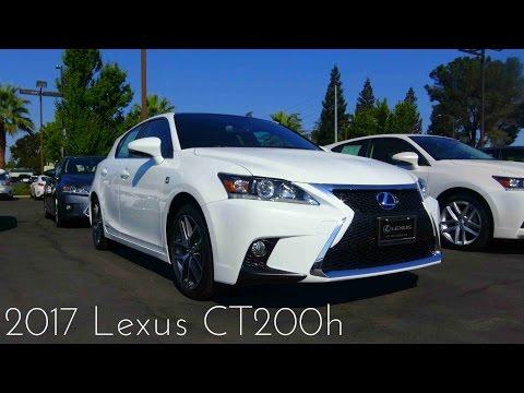 2017 Lexus CT200h F-Sport 1.8 L 4-Cylinder Review