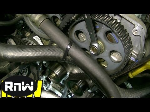 Kia Spectra Timing Belt Replacement – 1.8L DOHC Engine Part 2