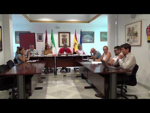 Pleno Ordinario del 26 de Julio de 2018 del Ayuntamiento de Casabermeja