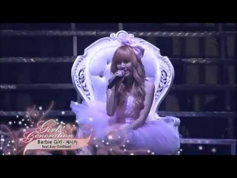 Barbie Girl - Girls Generation Jessica (SNSD) ft  Key of SHINee