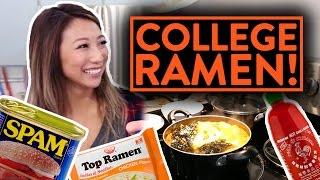 BEST RAMEN RECIPES TO MAKE IN COLLEGE!