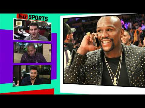 Floyd Mayweather Flosses Another Insanely Expensive Watch | TMZ Sports (видео)
